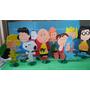 Kit Enfeites Mesa Snoopy Charlie Brown Festa Decoraçao
