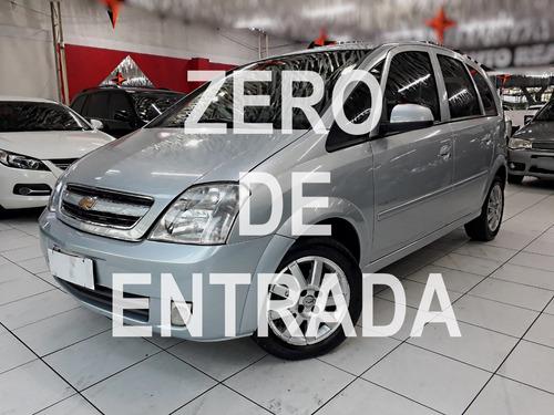 MERIVA PREMIUM COMPLETA 1.8 / ZERO DE ENTRADA / SEM ENTRADA