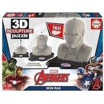 Puzzle Escultura 3d - Iron Man