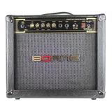Amplificador Borne Vorax 1050 50w Preto E Dourado 110v/220v