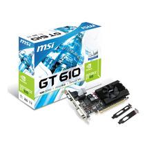 Placa Video Nvidia Geforce Gt610 2gb Ddr3 Hdmi + Low Profile