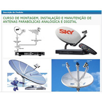 Curso Instalador De Antenas Parabólicas E Digital
