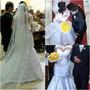 Lindo Vestido De Noiva Com Preço De Aluguel E Frete Grátis