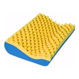Travesseiro Casca Do Ovo Ortopédico Cervical  Massageador