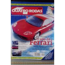 Revista Quatro Rodas Nº467-ferrari 360 Modena Bentley Armage