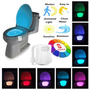 Sensor C/ Luz Led 8 Cores Vaso Sanitário Privada Lightbowl