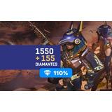 Free Fire 1550 Diamantes + Bônus Recarga P/ Conta