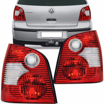 Lanterna Traseira Polo Hatch 2003 2004 2005 2006 Bicolor Ld