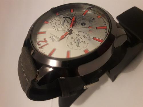cc73dcbc2ad Relógios Preto De Couro Masculino Nike Promocao