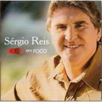 Cd Sérgio Reis - Em Foco - Novo***