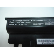 Bateria Netbook Positivo Mobile 4800mah P/n: 916c7290f