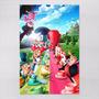 Poster 60x90cm Filmes Animacao Alice No País Das Maravilhas
