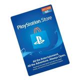 Playstation Giftcard Psn Contas Americana $60 Envio Imediato