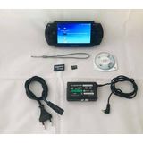 Psp 1001 Destravado 16 Gb Desbloqueado Sony Playstation Game
