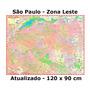 Mapa Cidade São Paulo Zona Leste 17 Mil Ruas Atualizado