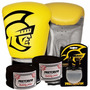 Kit Boxe Training Pretorian -16 Oz - Amarelo