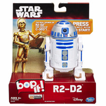 Jogo Bop It! Star Wars - R2 D2 - Eletrônico Hasbro