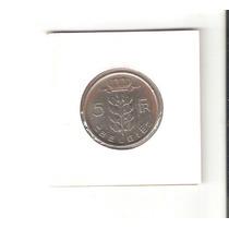 Linda Moeda Da Bélgica De 5 Francs De 1949 - Vejam A Foto !