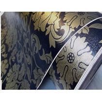 Papel Floral D Rolo 10mts Auto Adesivo Parede Pronta Entrega