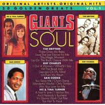 Cd / Drifters, Sam Cooke, Ray Charles, Ike & Tina = Giants