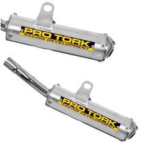 Ponteira Pro Tork Para Yamaha Dt 180 Em Aluminio Escovado
