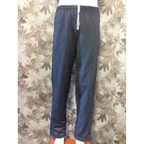 Calça Moletom Masculino Efeito Jeans