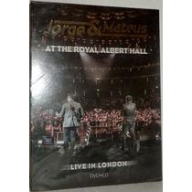 Dvd + Cd Jorge & Mateus - At Royal Albert Hall - Lacrado !!