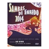 Dvd Sambas De Enredo 2014 Gravado Ao Vivo Cidade Do Samba