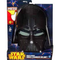 Star Wars Mascara Eletr. Darth Vader Sintetizador De Voz