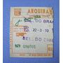 Ingresso Jogo Brasil E Chile 1970 - Futebol Amistoso
