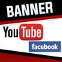 Banner Para - Youtube, Facebook, Redes Sociais - Promoção