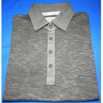 Camisa Polo De Trico Marca Inglesa Marks And Spencer Tam. P