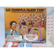 Antigo Jogo Só Compra Quem Tem Silvio Santos Original
