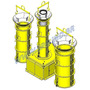 Conjunto Vibratório Para Fabricação Manilha Tubo De Concreto