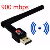 Adaptador Antena Receptora 900 Mbps Internet Wifi Barato