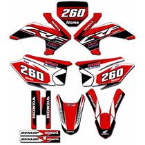 Kit Adesivos Graficos Crf 230 Ano 2015 Moto Crfmd-01