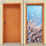 Adesivo Decorativo De Porta - Natureza - Árvore - 624mlpt