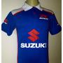Camiseta Gola Polo Moto Suzuki Gsx