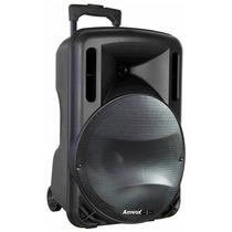 Caixa Acústica Amplificada Aca280, 280w, Usb - Amvox