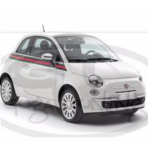 Faixa Adesiva Fiat 500 Modelo By Gucci Material Importado