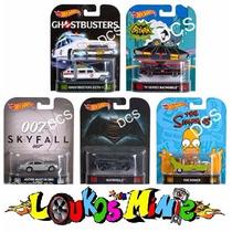 Hot Wheels Retro 2016 Ecto 1 Batman Batmobile Simpsons 007