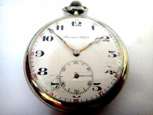 0889c4a1031 Relógio International Watch De Bolso