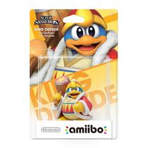 Amiibo King Dedede Nintendo Original E Lacrado P/ Wii U