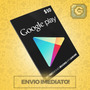 Cartão Google Play Store Gift Card $10 Dolares Us Android
