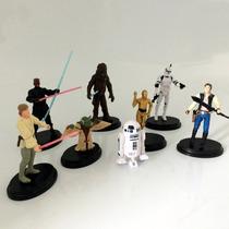 8 Bonecos Star Wars - Coleção Completa ! Barato!
