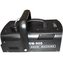 Maquina De Neve Snow Machine 900watts 2 Controles Remoto