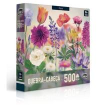 Quebra Cabeça Flores 500 Peças - Toyster