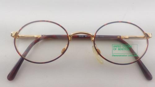 bcab9cbf3 Armação #óculos Grau #metal Fulvue Benetton Bn3608ov