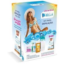 Kit Depilação Profissional Depil Bella Bivolt - Roll-on