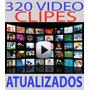 4 Dvds 320 Clipes Atualizados 2015 Dj Frete Grátis+ Download